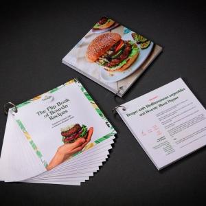 Boursin Cheese - Flip Book of Boursin Recipes - DIgital Print