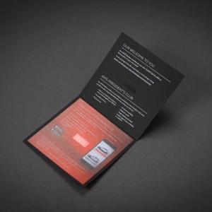 Avis Invite - Digital print with white