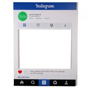 Gordons Gin - Instagram - Large Format - Perspex window